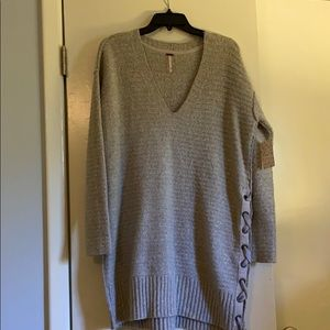 Free people sweater - tunic or dress length